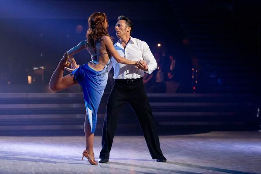 Dernier prime dans Danse avec les stars pour Silvia Notargiacomo et Gérard Vives...