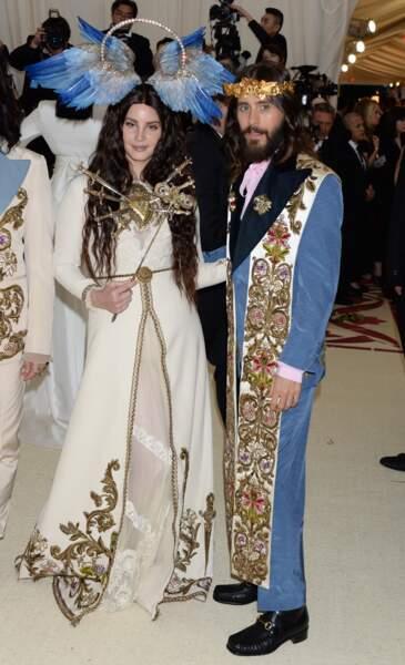 Lana Del Rey et Jared Leto