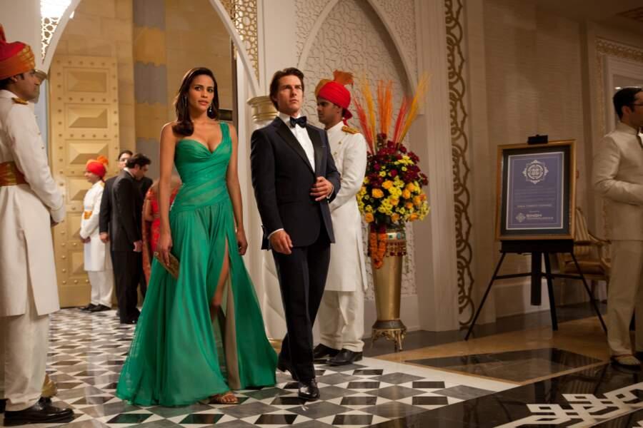 """Mission Impossible (2011): la classe et le muscle, aux côtés de Tom """"Ethan Hunt"""" Cruise."""