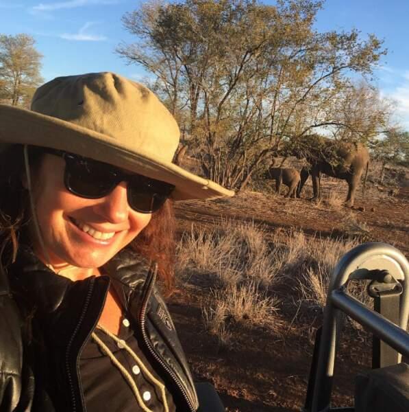 Tout comme notre nounou préférée, Fran Drescher, en Afrique du Sud...