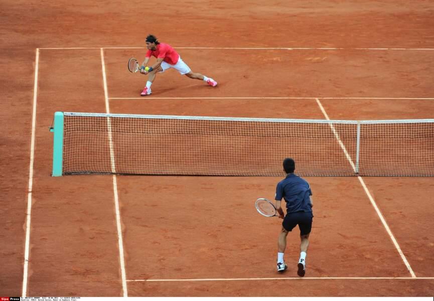 2012 : L'Espagnol bat le Serbe Novak Djokovic