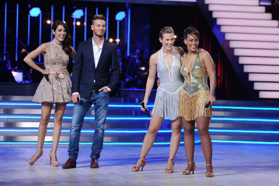 Et l'équipe de Sofia (Lorie, Bastian, Gérard, Taïg et Laura) qui remporte les points bonus !