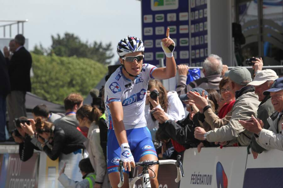 Cocorico, on commence par le tout nouveau champion de France, Arthur Vichot !