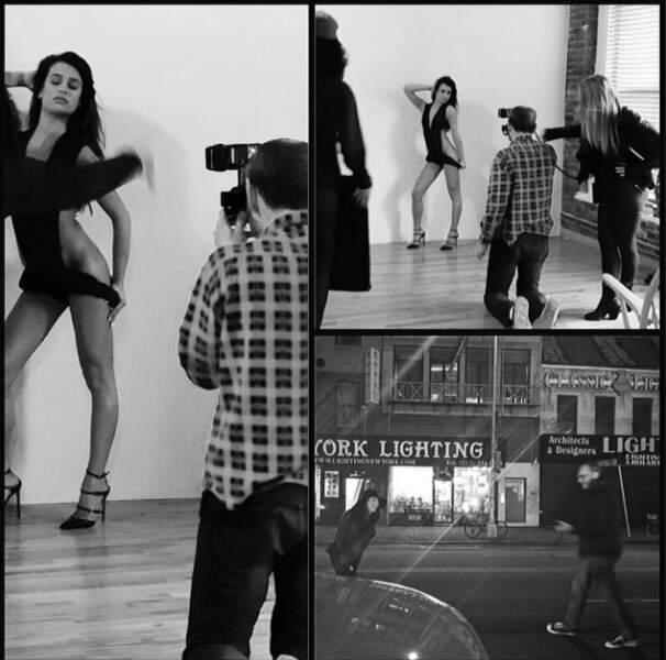 En pleine promo de son album, Lea Michele a cédé et a posé à moitié nue pour Terry Richardson. Quelle déception....