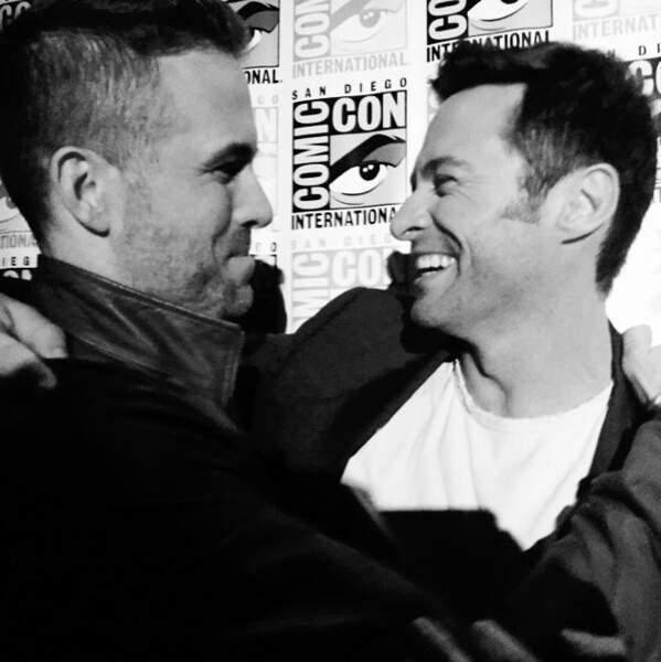 Ah l'amour... Ryan Reynolds x Hugh Jackman