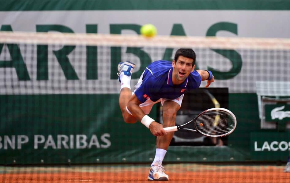 Incroyable mais vrai... Novak Djokovic a perdu un set hier.