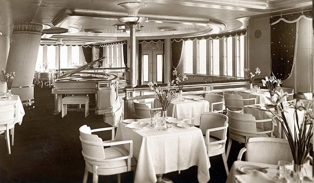 Aujourd'hui, le paquebot a conservé son style 1930.