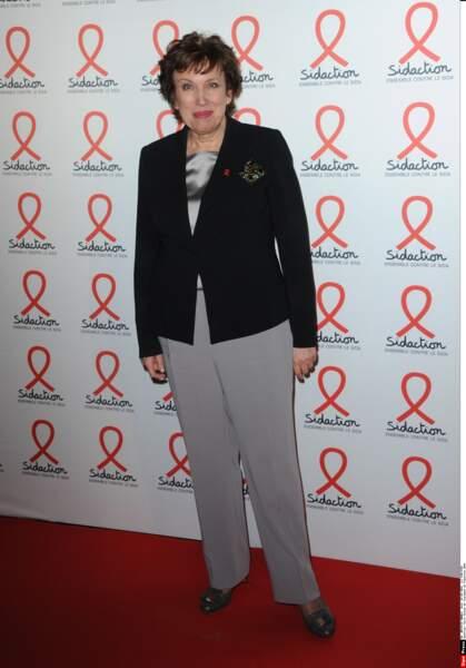 Roselyne Bachelot présente pour le lancement du Sidaction 2016