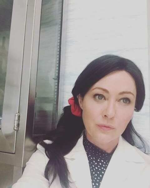 En août 2017, l'actrice a repris les tournages, pour la série Heathers