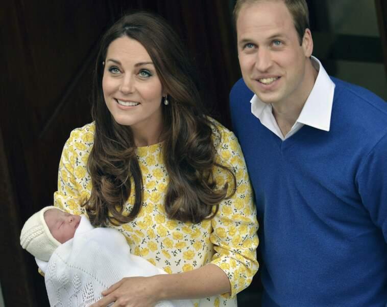 Mai : Kate et William heureux de présenter leur princesse à tous