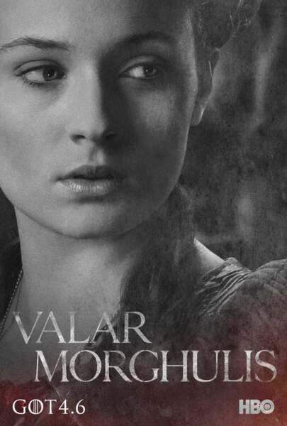 Sophie Turner, la belle Sansa Stark, fille ainée de Ned