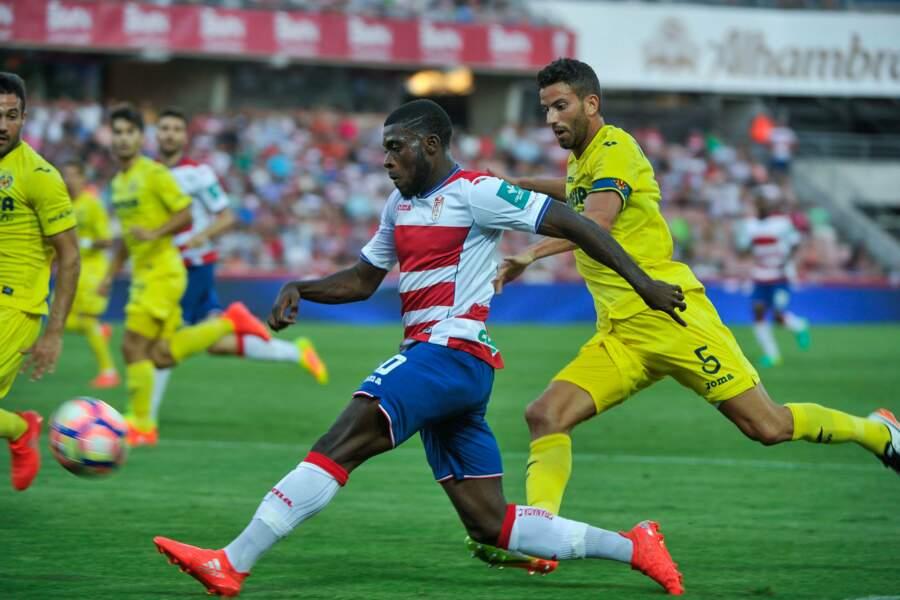 Prêté par Chelsea, Jérémie Boga porte également le maillot andalou