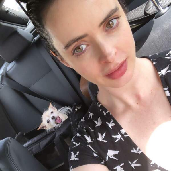 Voici Krysten Ritter, de Jessica Jones, sans maquillage…