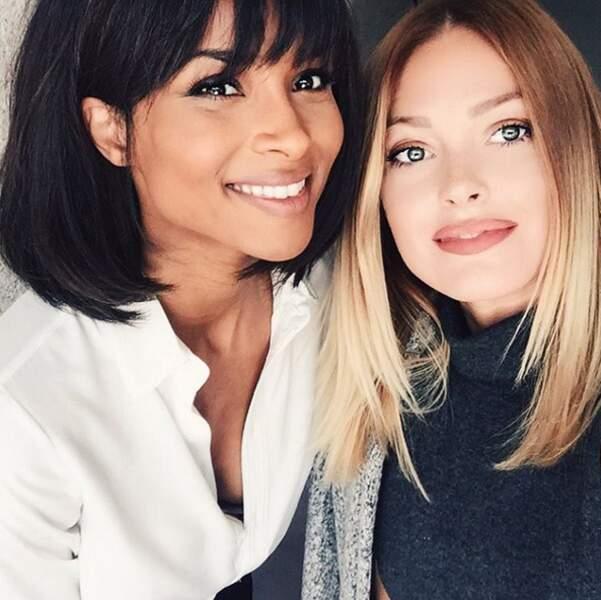 Rencontres de people : Caroline Receveur et Ciara