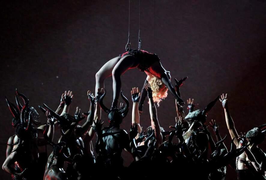 De nouveau, Madonna s'est illustrée !