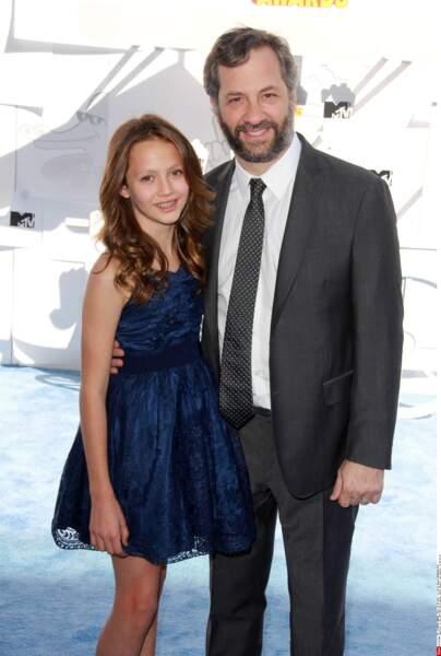 Judd Apatow et sa fille Iris Apatow