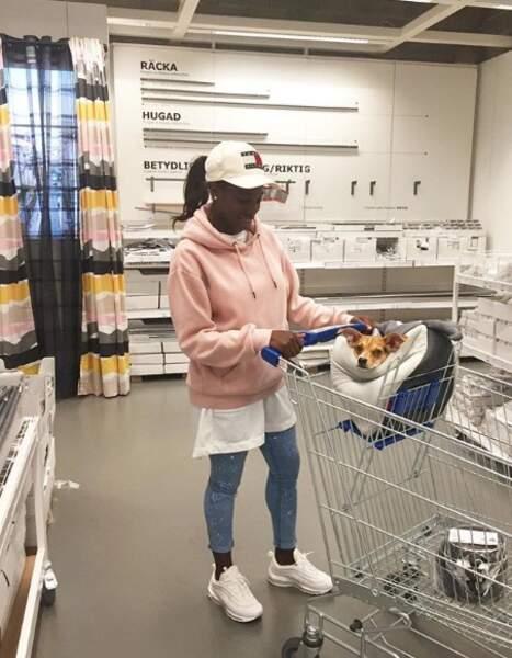 Séquence shopping avec Nala