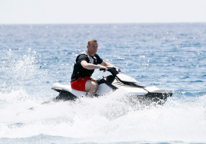Wayne Rooney préfère le jet ski