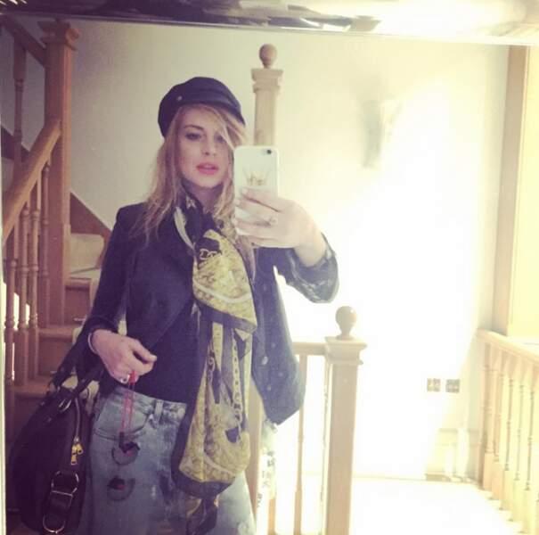 Clin d'oeil de Lindsay Lohan à Madonna.