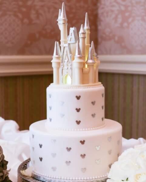 Les fans de Disney ont aussi droit à leur gâteau de mariage !