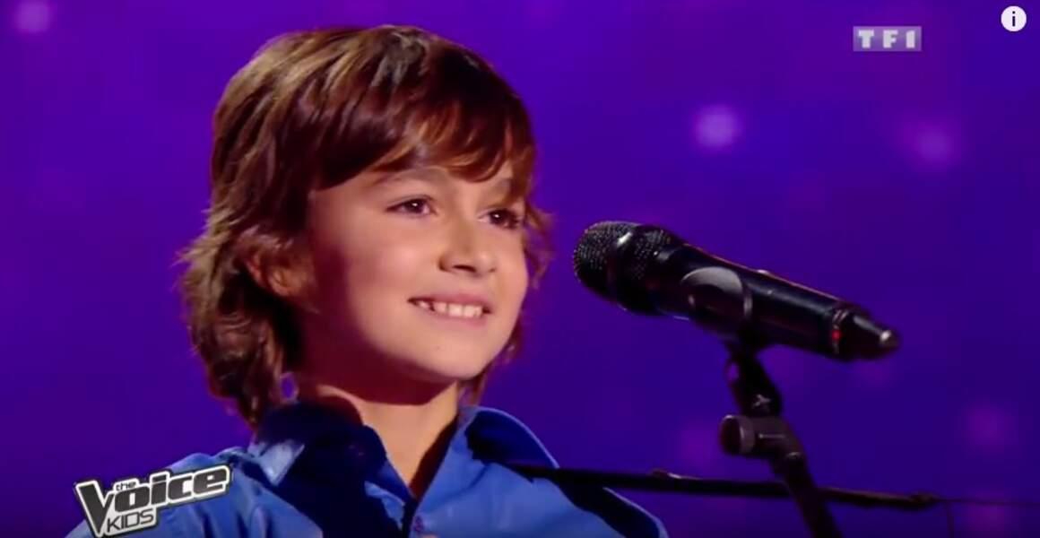 Il tente ensuite sa chance en 2013 dans la première saison de The Voice Kids