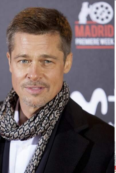 Ouf ! Brad Pitt s'est repris en main et la barbe grisonnante lui donne un petit plus sexy