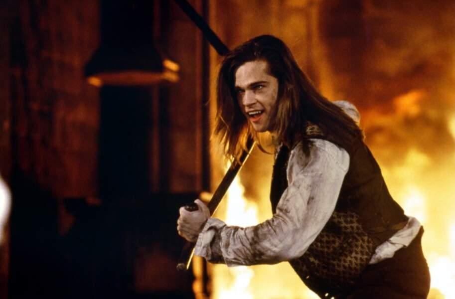 Brad Pitt dans Entretien avec un vampire (1994)