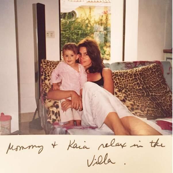 Souvenir de la petite Kaia, il y a 15 ans déjà !