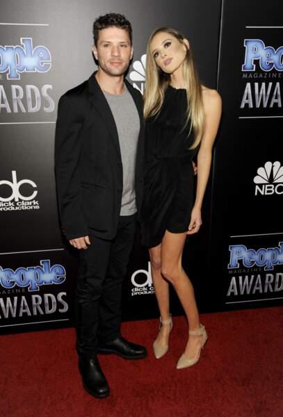 L'acteur Ryan Phillippe et Paulina Slagter, en couple depuis 2011.