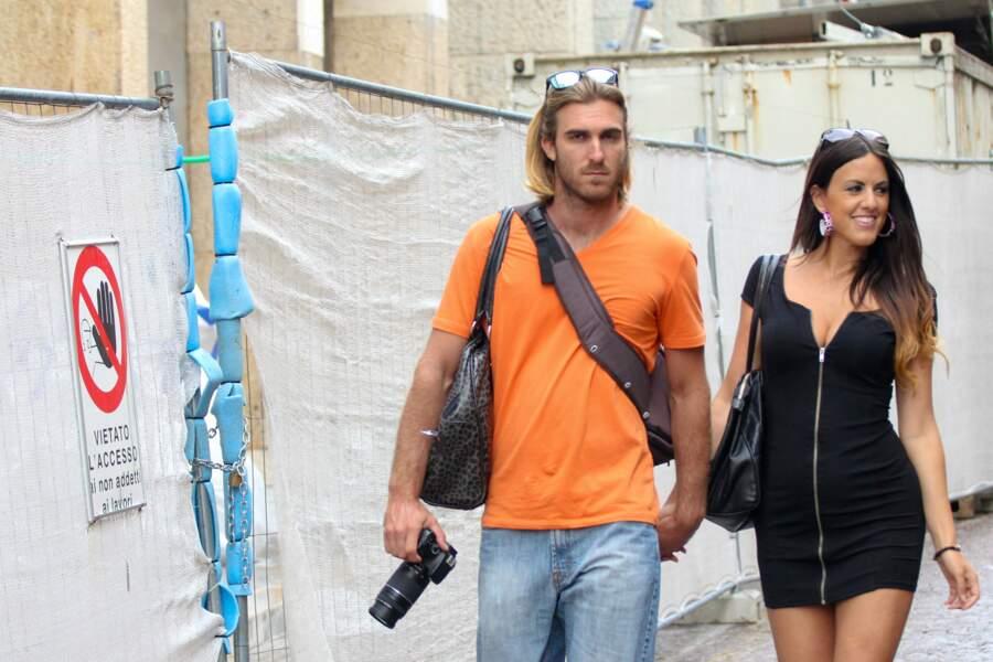 Les candidats de télé-réalité Claudia Romani et Kevin Gleizes (Secret Story 9), en couple depuis 2010.