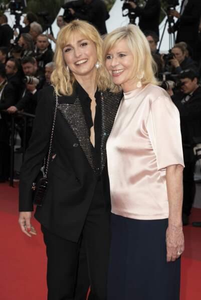 Julie Gayet et Chantal Ladesou