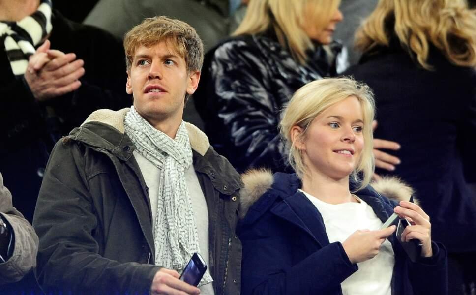 Sebastian Vettel et Hanna Prater partagent visiblement une passion pour le football