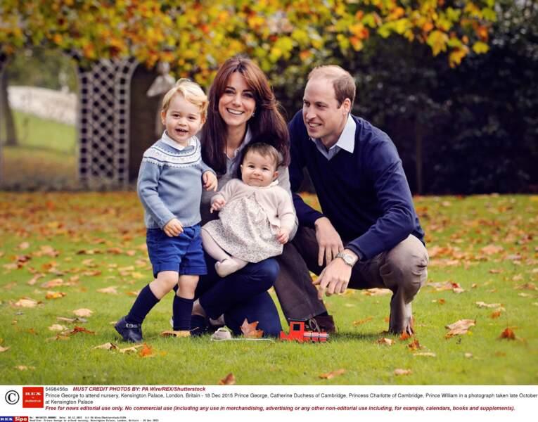 Une belle photo de famille !