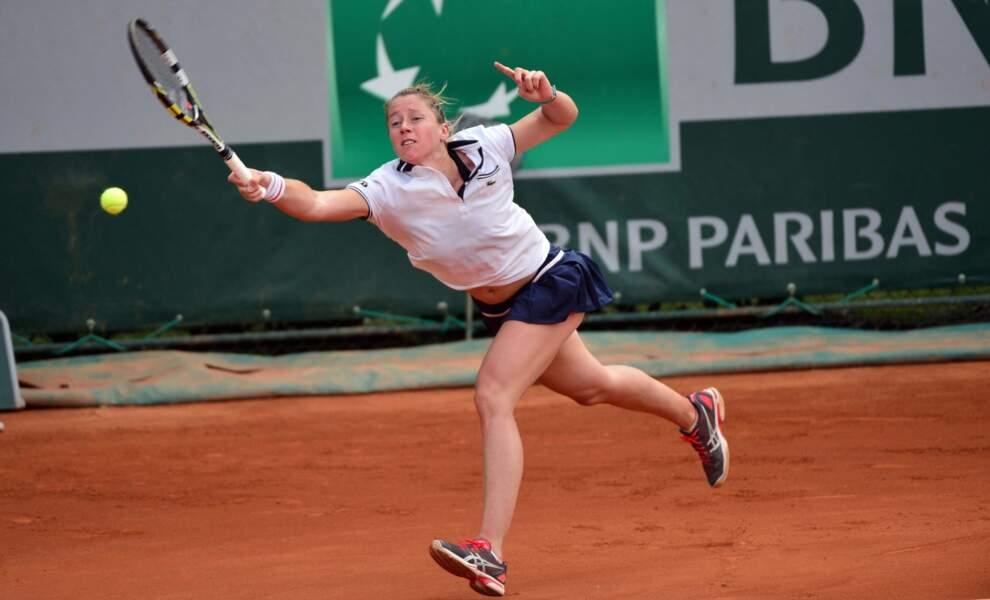Match cauchemardesque pour la française Pauline Parmentier, humiliée face à la Slovaque Rybarikova (6-0, 6-1)