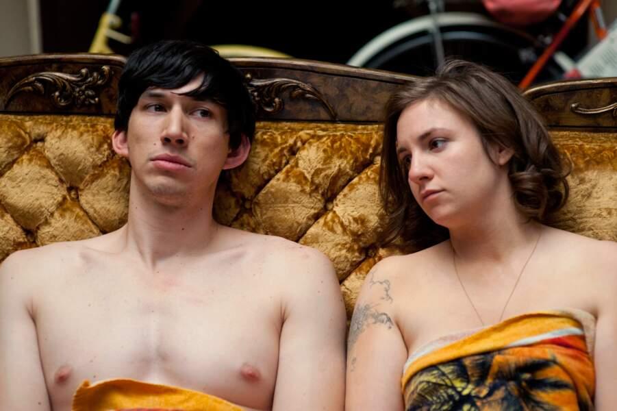 Dans la série, Adam n'hésite pas à donner de sa personne et apparait régulièrement nu dans les premières saisons