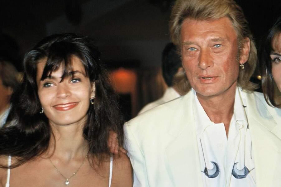 En 1990, nouveau mariage, cette fois-ci avec Adeline Blondieau