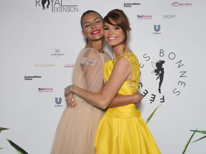Camille Cerf et Maëva Coucke, deux Miss France venues du Nord-Pas-de-Calais