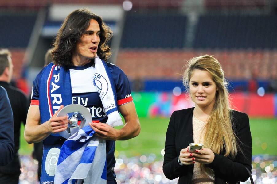 Depuis son divorce avec Maria Soledad en 2014, Edinson Cavani vit désormais avec Jocelyn Burgardt