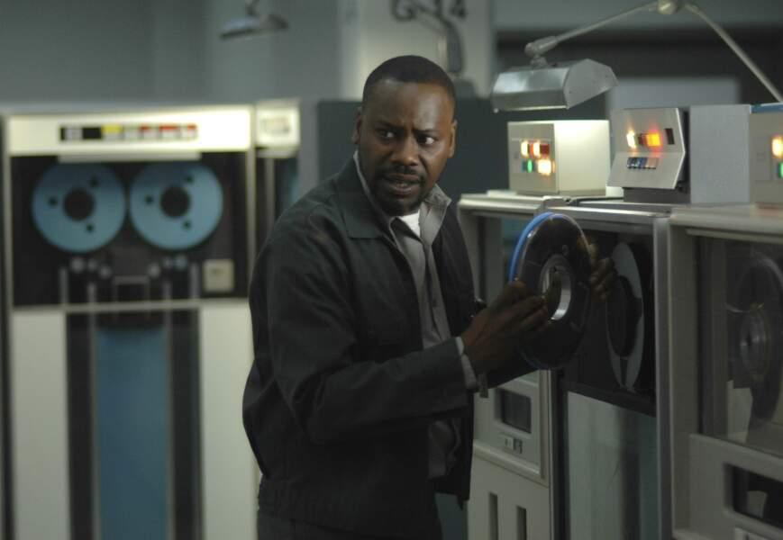 Malcolm Barrett interprète Rufus Carlin, le scientifique de la bande