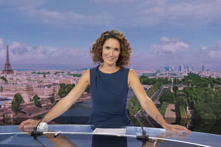 Aujourd'hui, elle anime le 13h sur France 2