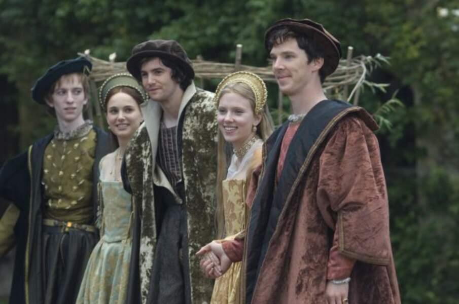 Benedict Cumberbatch est peut être très mal sapé mais il est bien entouré dans Deux soeurs pour un roi (2008)