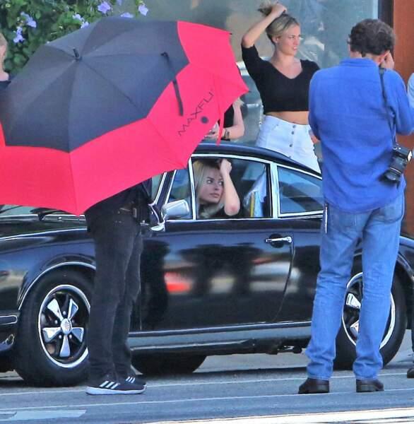La très jolie Margot Robbie incarne la tristement célèbre Sharon Tate pour les besoins du film