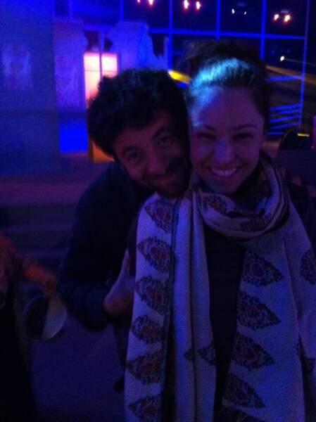 Patrick Bruel et Natasha St Pier sur la scène des Enfoirés 2014