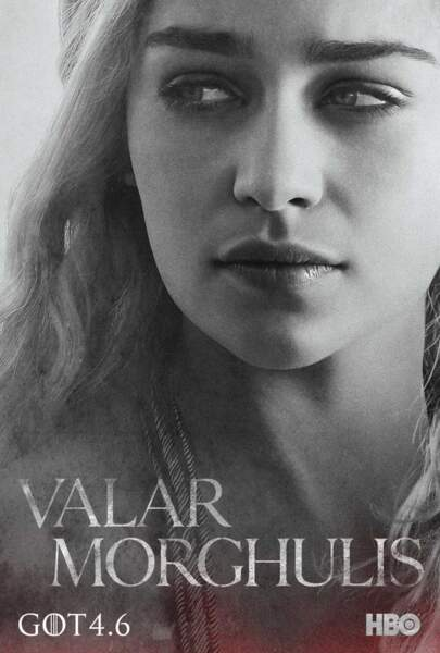 Emilia Clarke est Daenerys Targaryen