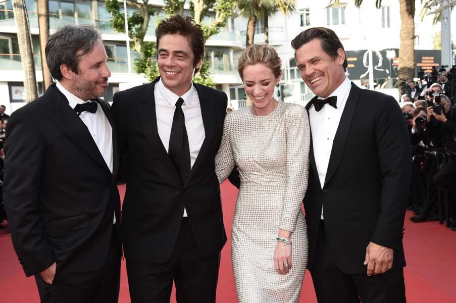 L'équipe du film Sicario !