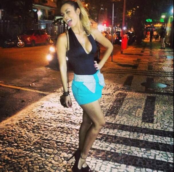 Que ce soit dans les rues brésiliennes...