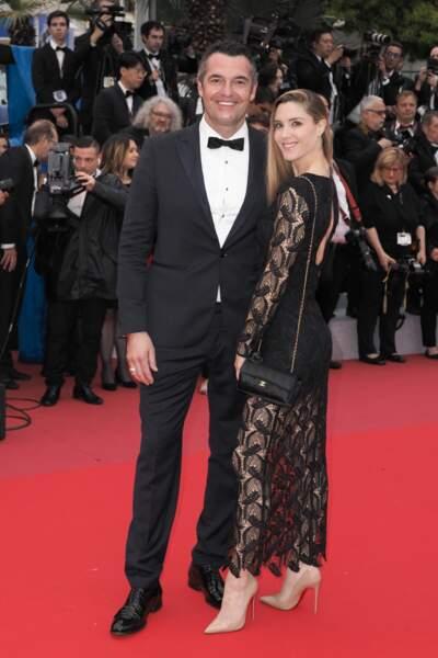 Arnaud Ducret et sa femme