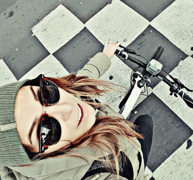 Vélo pour Laury Thilleman...