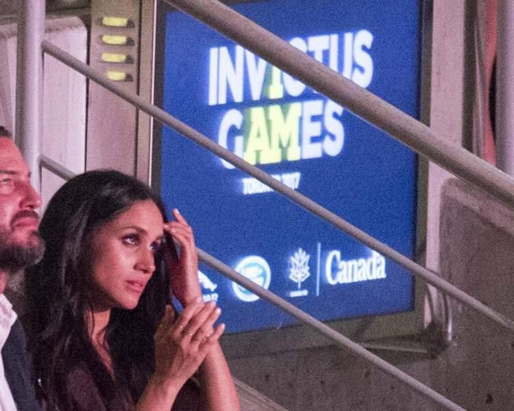 Meghan Markle à la cérémonie d'ouverture des Invictus Games à Toronto