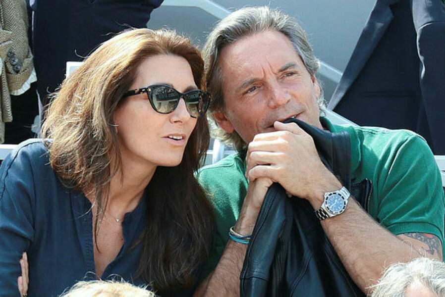 Anne-Claire Coudray et son époux Nicolas Vix